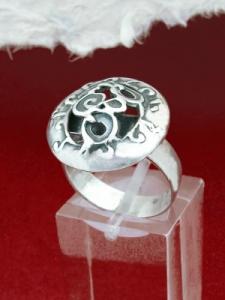 Сребърен пръстен - RK96