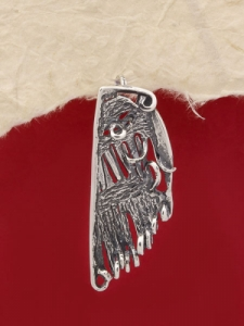 Сребърен медальон - PK101