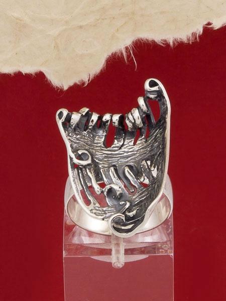 Сребърен пръстен - RK101