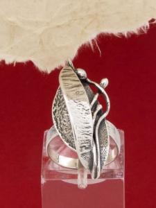 Сребърен пръстен - RK102
