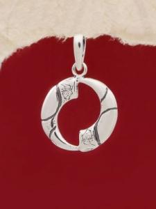 Сребърен медальон - PK106