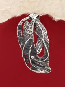 Сребърен медальон - PK108