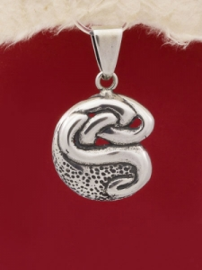 Сребърен медальон - PK109