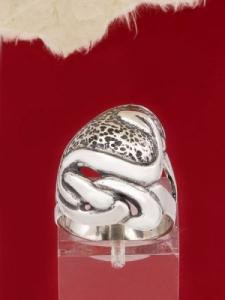 Сребърен пръстен - RK109