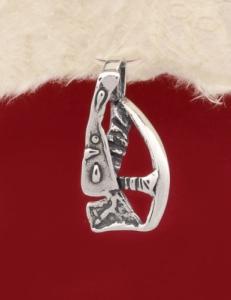 Сребърен медальон - PK110