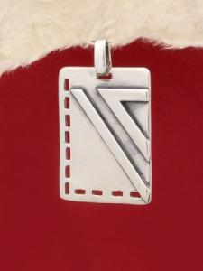 Сребърен медальон - PK113