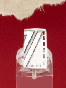 Сребърен пръстен - RK113