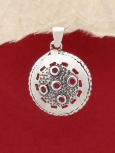 Сребърен медальон - PK114