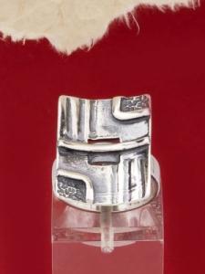 Сребърен пръстен - RK115