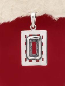 Сребърен медальон - PK116