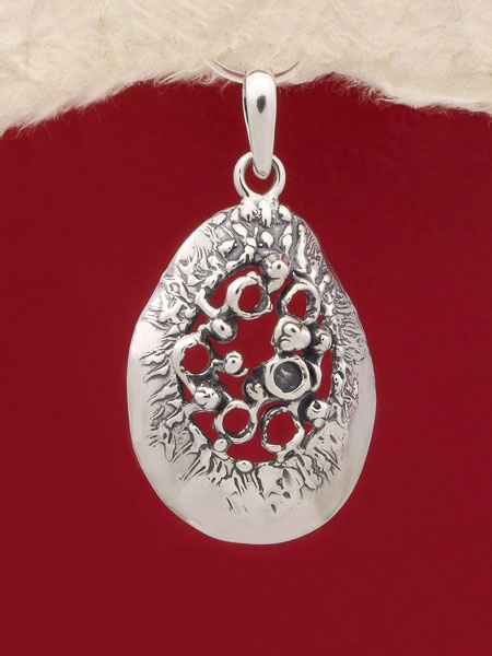 Сребърен медальон - PK117