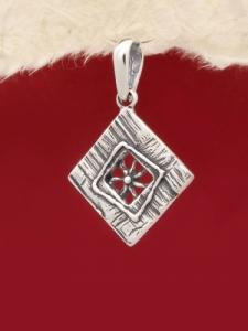 Сребърен медальон - PK119