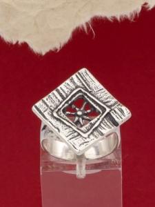 Сребърен пръстен - RK119