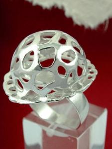 Сребърен пръстен - RK120