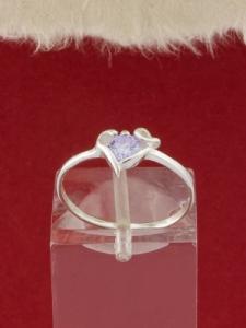 Сребърен пръстен - R257
