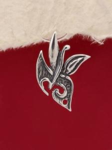 Сребърен медальон - PK125