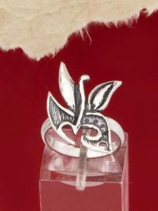Сребърен пръстен - RK125