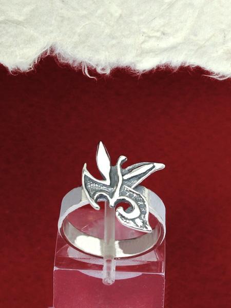 Сребърен пръстен - RK125 small