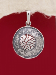 Сребърен медальон - PK150
