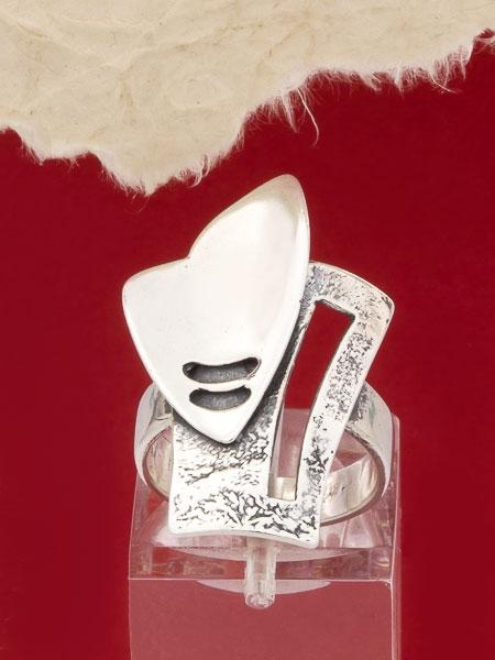 Сребърен пръстен - RK126