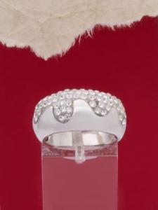 Сребърен пръстен - R273