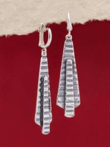 Сребърени обеци - EK148