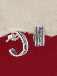 Сребърни обеци E24