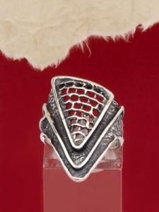 Сребърен пръстен - RK122