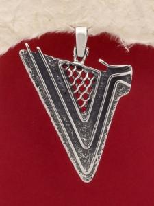 Сребърен медальон - PK122
