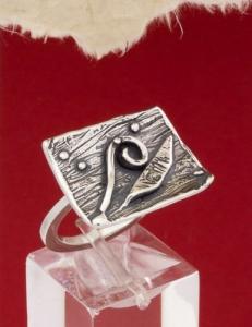 Сребърен пръстен - RK129