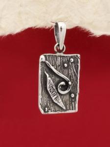 Сребърен медальон - PK129
