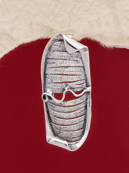 Сребърен медальон - PK136