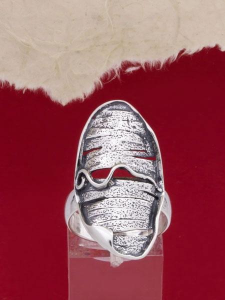 Сребърен пръстен - RK136