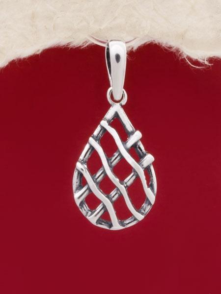 Сребърен медальон - PK137