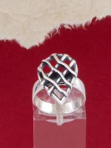 Сребърен пръстен - RK137