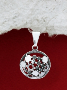 Сребърен медальон - PK139
