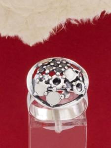 Сребърен пръстен - RK139