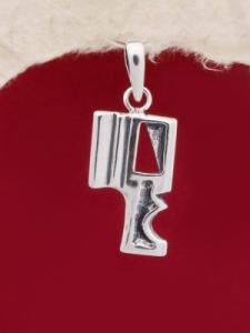 Сребърен медальон - PK141