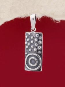 Сребърен медальон - PK143