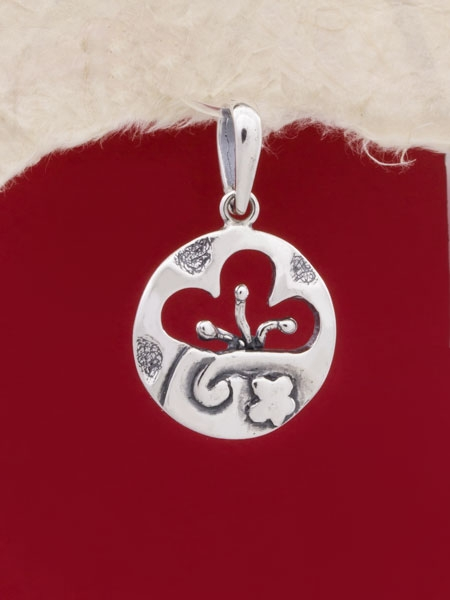 Сребърен медальон - PK144