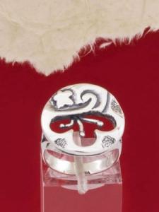 Сребърен пръстен - RK144
