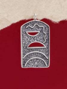 Сребърен медальон - PK145