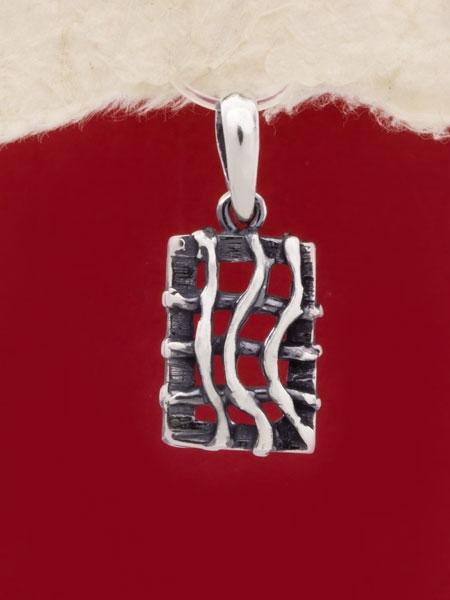 Сребърен медальон - PK146