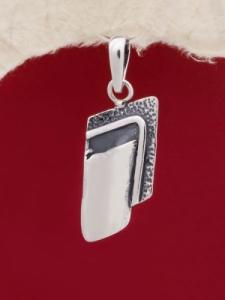 Сребърен медальон - PK147