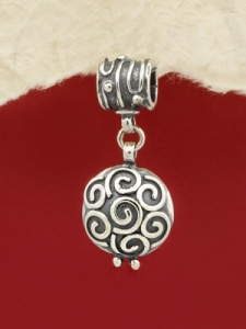 Сребърен медальон - PK384