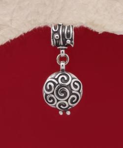 Сребърен медальон - HP50A