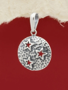 Сребърен медальон - PK353