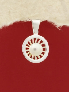 Сребърен медальон - PK351