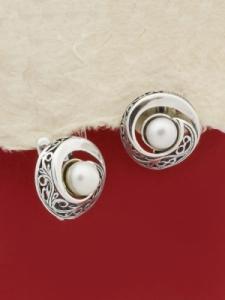 Сребърни обеци - EK352