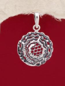 Сребърен медальон - PK155